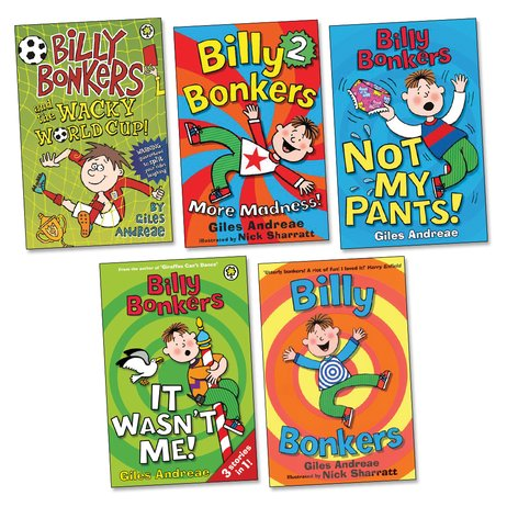 Billy Bonkers Pack x 5