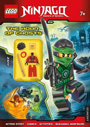 LEGO® Ninjago: The Hour of Ghosts Story and Activity Book
