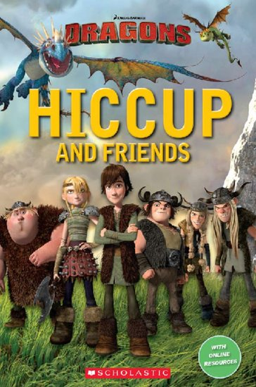 How to Train Your Dragon: Hiccup and Friends BOOK ONLY