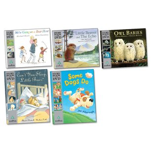 Classic Storybooks with DVDs Pack x 5