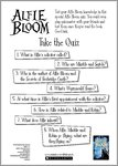 Alfie Bloom Quiz (1 page)