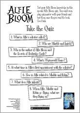 Alfie bloom quiz act quiz 1385759