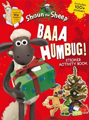 Shaun the Sheep: Baaa Humbug! Sticker Activity Book