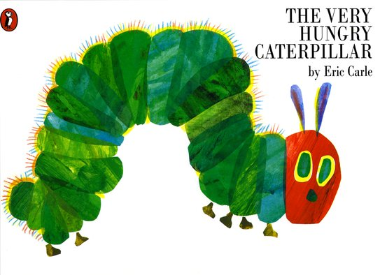 The Very Hungry Caterpillar x 6