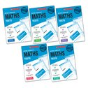 National Curriculum SATs Tests: Maths Tests Years 2-6 Set x 6 (30 books)