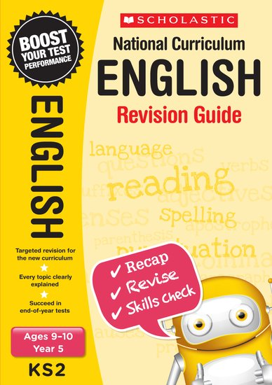 National Curriculum Revision: English Revision Guide (Year 5) x 6