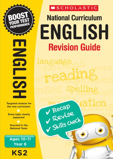 National Curriculum Revision: English Revision Guide (Year 6) x 30