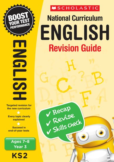National Curriculum Revision: English Revision Guide (Year 3) x 30