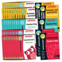 Scholastic English Skills: Grammar and Punctuation/Handwriting/Comprehension Years 3-4 Pack x 155