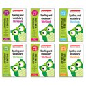 Scholastic English Skills: Spelling and Vocabulary Years 1-6 Set (6 Books)