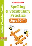 Scholastic English Skills: Spelling and Vocabulary Workbook (Year 6) x 6