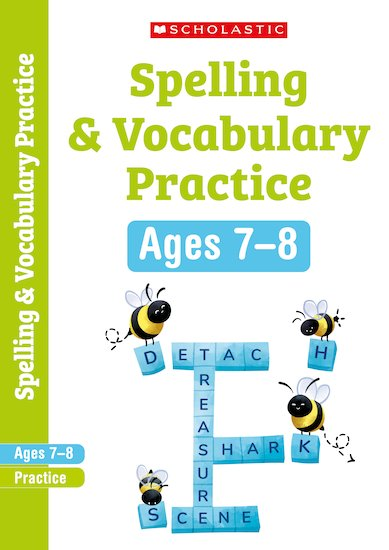 Scholastic English Skills: Spelling and Vocabulary Workbook (Year 3) x 6