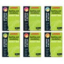 Scholastic English Skills: Spelling and Vocabulary Teacher's Books Years 1-6 Set x 6