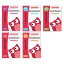 Scholastic English Skills: Comprehension Workbooks Years 1-6 Pack (5 Books)