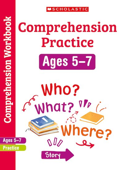 Scholastic English Skills: Comprehension Workbook (Years 1-2) x 6
