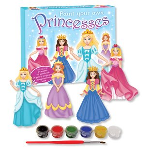 Paint Your Own Princesses