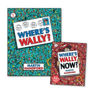 Where's Wally? with FREE Where's Wally Now? Mini Edition