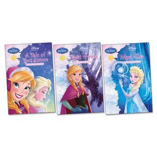 Disney Frozen Early Readers Trio