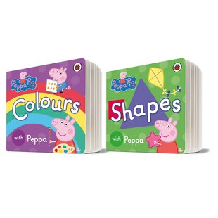 Peppa Pig: Colours and Shapes Pair