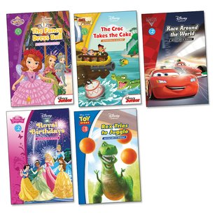 Disney: Adventures in Reading Pack (Levels 1-3) x 5