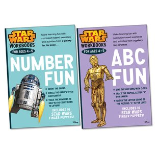 Disney: Star Wars Workbooks Pair (Ages 4-5)