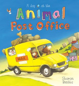 A Day at the Animal Post Office PB