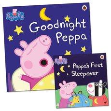 Peppa Pig: Goodnight Peppa with FREE Peppa's First Sleepover Mini Edition