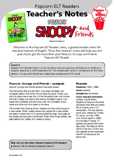 peanuts snoopy and friends teacher's notes.pdf