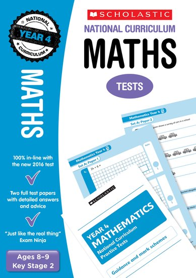 National Curriculum SATs Tests: Maths Tests (Year 4) - Scholastic Shop