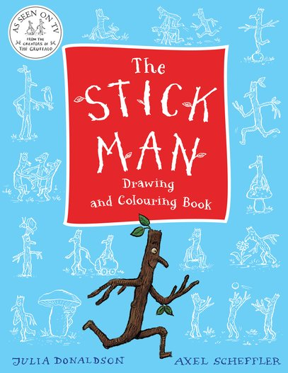 The Stick Man Drawing and Colouring Book