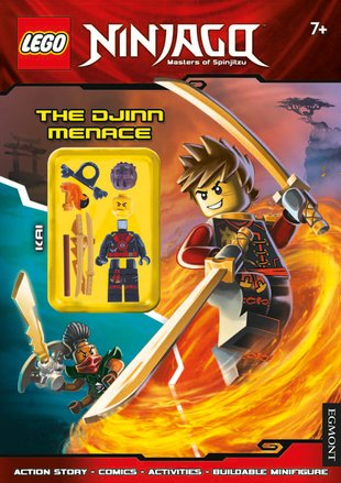 LEGO® NINJAGO™: The Djinn Menace Activity Book