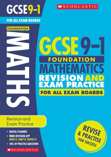 Foundation Maths Revision and Exam Practice Book for All Boards