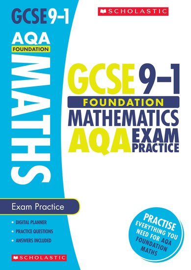 Foundation Maths AQA Exam Practice Book