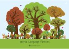 Language trees poster