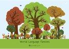 Language trees poster