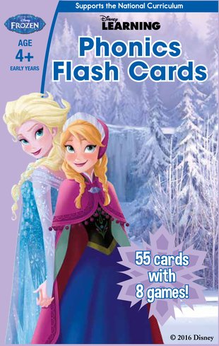 Frozen - Phonics Flash Cards