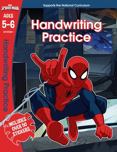 Spider-Man Handwriting Practice (Ages 5-6)