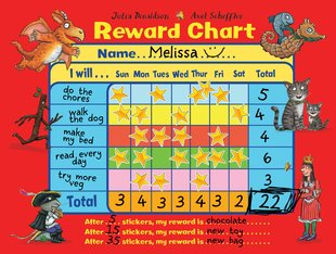Julia Donaldson and Axel Scheffler Reward Chart