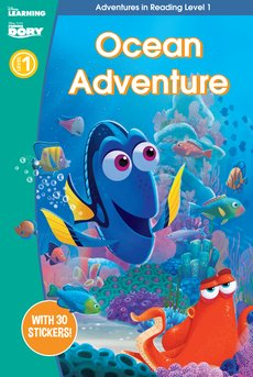 Finding Dory: Ocean Adventure (Adventures in Reading, Level 1)