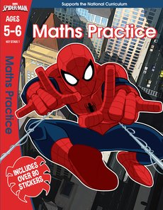 Spider-Man Maths Practice (Ages 4-5)