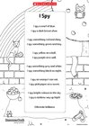 'I Spy' poem