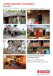 Geography resource: Homes around the world starter sheet (1 page)