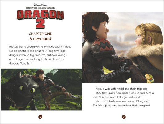 How to Train Your Dragon 2 - sample chapter
