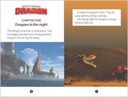 How to Train Your Dragon - sample chapter