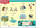 The Animals of Kung Fu Panda - New Words sample page (1 page)