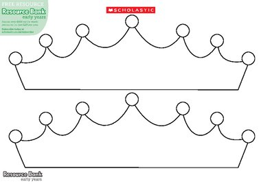 Crown template – FREE Early Years teaching resource - Scholastic
