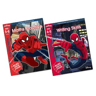 Marvel's Spider-Man Learning Workbooks Pair