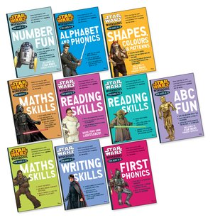 Star Wars Workbooks Ages 4-7 Pack x 10