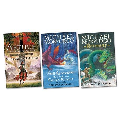 Michael Morpurgo Epic Legends Pack x 3 - Scholastic Shop