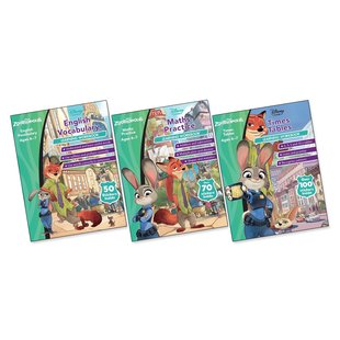 Zootropolis Learning Workbooks Ages 6-7 Pack